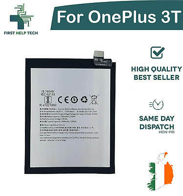 For OnePlus 3T / 1+3T - Genuine Replacement Battery BLP633 3300mAh 3.85V New