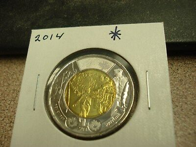 2014 - Canada - Brilliant Uncirculated $2 - Canadian two dollar coin toonie