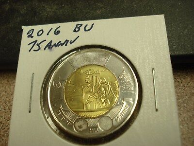 2016 WWII - Canada - Brilliant Uncirculated $2 - Canadian two dollar coin toonie