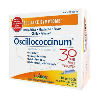 Oscillococcinum 30 doses Boiron Homeopathic Treatment For Colds & Flu Best Price