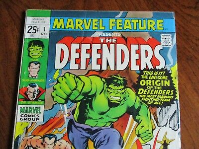 Marvel Feature #1 First Defenders 1971