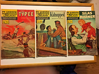 Classics Illustrated #36-46-55-60-67-75-76-85-91-93-94