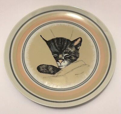 Nostalgia Station B&O Railroad Museum Chessie System Cat Collector Plate Rare