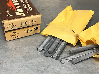 Sunnen L10-J55 Honing Hone Stones, Silicon Carbide, 220 Grit (Box of 9)