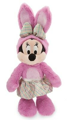 Official Disney Store Minnie Mouse Easter Bunny 2018 Soft Toy Plush BRAND NEW UK