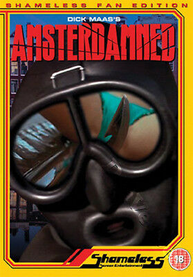 Amsterdamned NEW PAL Cult DVD Dick Maas Huub Stapel Monique van de Ven Dutch