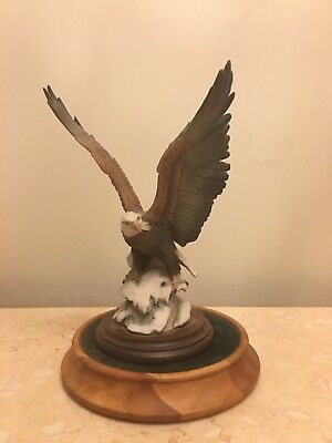"""""""American Majesty"""" Bald Eagle  from Franklin Mint by Ronald Van Ruyckevelt"""