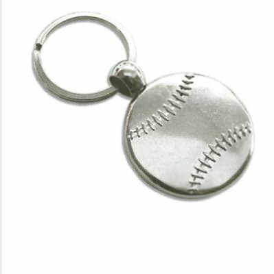 Custom Baseball key chain add your photos/text Gift Personalized Free shipping