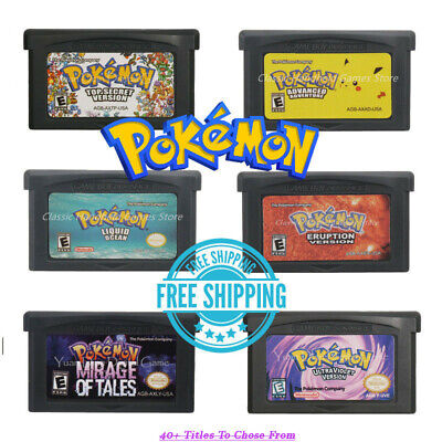 POKEMON Snakewood Glazed Ultraviolet Touhou XY Hyetology Game Boy Advance GBA
