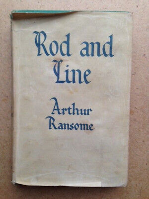Rod and Line Arthur Ransome Aksakov on Fishing Angling Trout Carp Bream Salmon