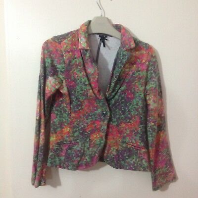Girls next multicolour blazer like  top 7years