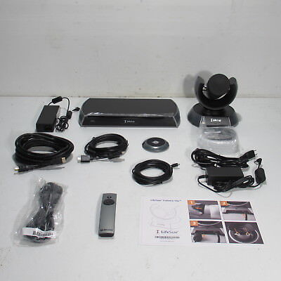 Lifesize Icon 600 Video Conferencing System Lfz-023 W/ 10X Camera & Accessories