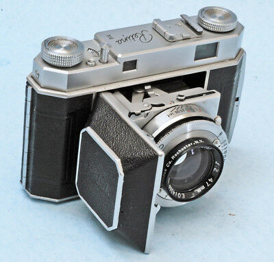 Rare Kodak Retina II with F=2/47mm Ektar lens, mint with case.