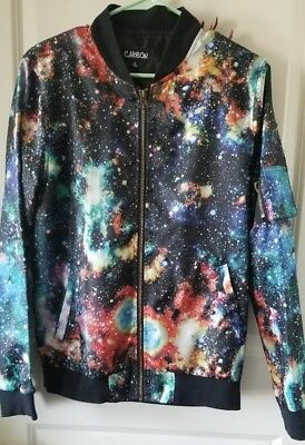 Galaxy Solar System Jacket by Carbon. Adult Size Small. Cool Jacket!