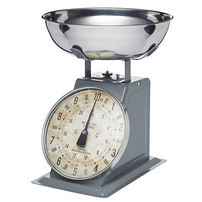 Kitchen Craft 10kg Industrial Mechanical Scale Stainless Steel Food/Weight