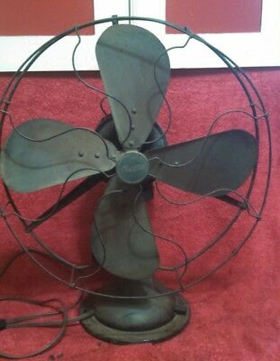 Vintage Century Fan Model 263 Brass Blades