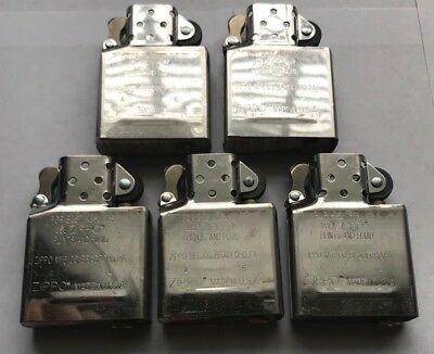 Lot Of 5 Vintage Zippo Lighter Inserts New Never Used