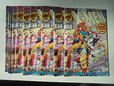 (10) copies of X-Men #281 in NM. A great CGC opportunity