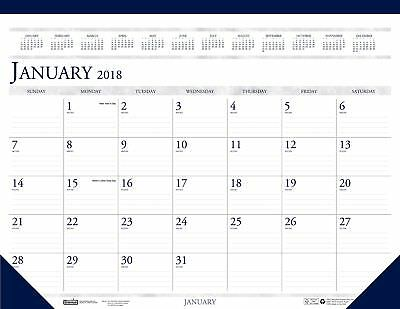 House of Doolittle 2018 Monthly Desk Pad Calendar, Classic, 22 x 17 Inches, J...