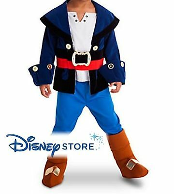 NEW Disney Store Captain Jake and the Neverland Pirates Size 2, 3
