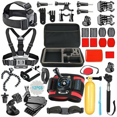 SmilePowo 42-in-1 GoPro Carry Accessory Kit for Hero4 Hero5 Hero6 Xiaomi