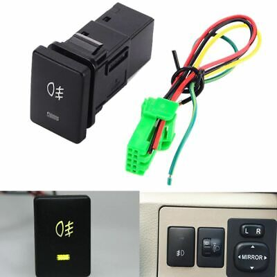 DC12V 4 Wire Foglight Switch Fog Light Button for Toyota