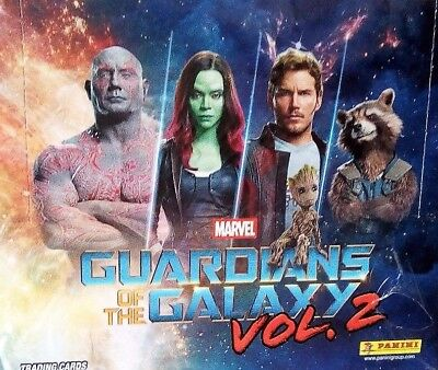 Panini - Marvel Guardians of the Galaxy Vol.2 - 1 Display (24 Booster) - Deutsch