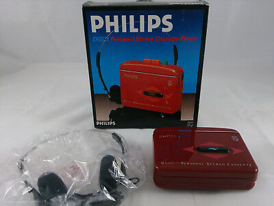 Philips D6511 Walkman rot in OVP (ELK/115)