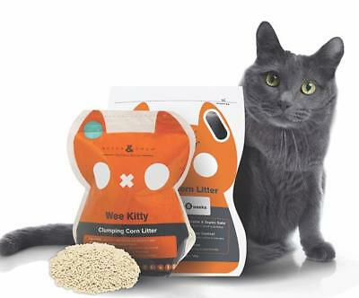 Rufus & Coco Wee Kitty Clumping Corn Litter  - 2kg