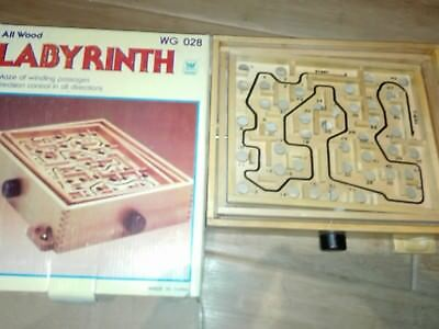 Holz labyrinth