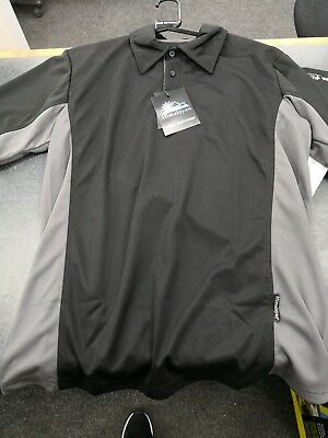 Himalayan H803 Iconic Zephyr navy blue work-wear polo-shirt size small-4XL