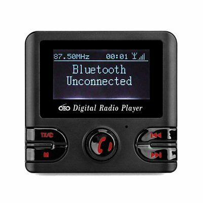 Auto DAB+ Digital Radio Adapter FM Transmitter, Bluetooth Musik Empfänger USB