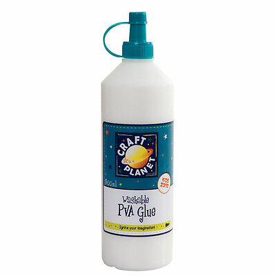 Craft Planet 0.5 L 193 x 142 mm PVA School Glue, Transparent  CPT 30500