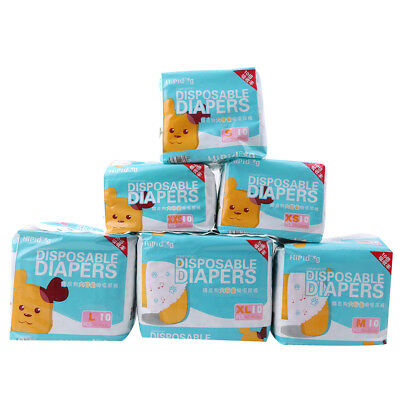 10Pcs Cosy Cotton Convient Pet Disposable Dog Doggy Puppy Diaper Sanitary Pant