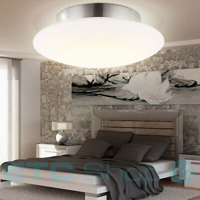 luxus led decken lampe glas strahler schlafzimmer spot bl tter living xxl eur 76 90 picclick de. Black Bedroom Furniture Sets. Home Design Ideas