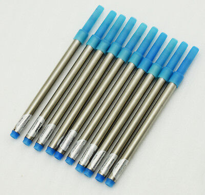 10 PCS Jinhao Rollerball Pen Ink Refills , Screw Type 0.7 mm - Blue Color