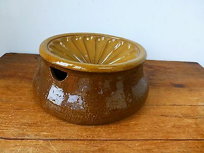 Kitchenalia Vintage Stoneware Fruit Orange Squeezer Juicer
