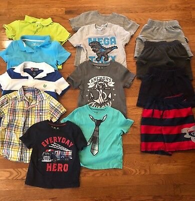 Boys 3T Spring Summer Clothing LOT, 13 pieces, Jumping Bean, Chaps, Carter's,etc