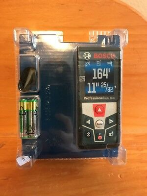Bosch GLM 50 C Laser Distance Measurer - Brand New In Sealed Box GLM50C