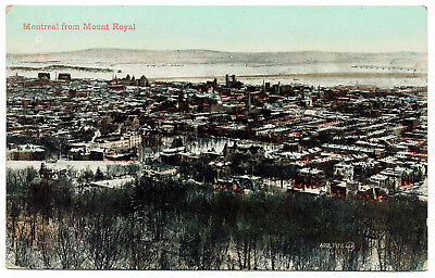 AK Canada Post Card MONTREAL from Mount Royal ungelaufen v. 1945