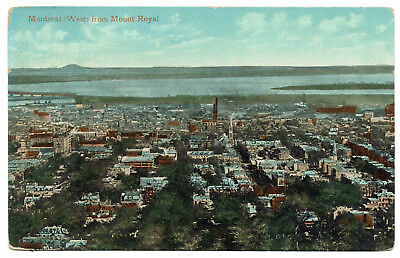 AK Canada Post Card MONTREAL (West) from Mount Royal ungelaufen v. 1945