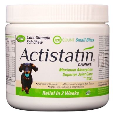 Actistatin Canine Extra-Strength Soft Chews for Small Dogs (120 count)