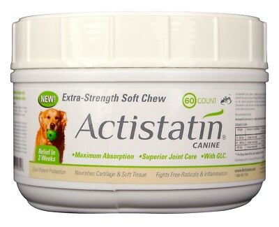 Actistatin Canine Extra-Strength Soft Chews for Large Dogs (60 count)