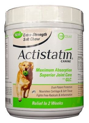 Actistatin Canine Extra-Strength Soft Chews for Large Dogs (120 count)
