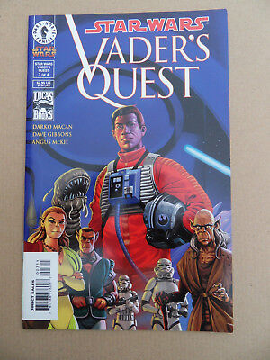 Star Wars : Vader's Quest 3 of 4 .Dave Gibbons .  Dark Hrse . 1999 . VF