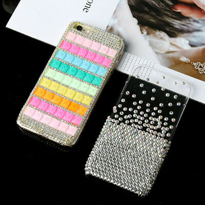 HANDMADE Bling Diamond Rhinestone Phone Case Luxury Case Cover For iPhone 6