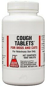 Cough Tablets for Dogs & Cats (1000 count)