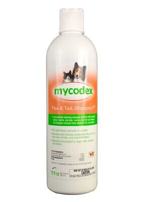 Mycodex Flea & Tick Shampoo P3 (12 oz)
