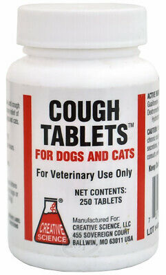 Cough Tablets for Dogs & Cats (250 count)