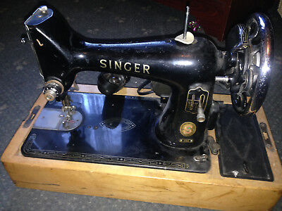 Singer Electric 99K Electric Heavy Duty Sewing Machine - FOR SPARES / REPAIRS